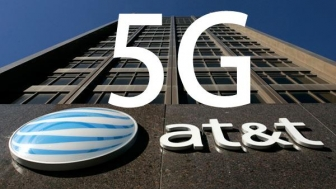 "AT&T launches a showoff ""5G Evolution"" Service in Indianapolis USA."