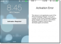 How to fix your iPhone 4, 4S &5 Activation error when updating to iOS 7.