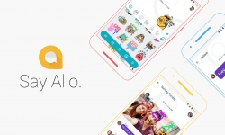 Google Allo v 3.0.006 Apk with new emoticons and themes loaded.