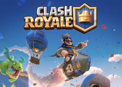 Clash Royale v 2.1.7 Mod apk with unlimited gems and coins hack.
