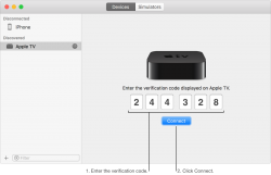 How to simply Connect Apple TV 4K To Xcode for MAC Wireless.