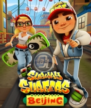 Download Subway Surfers Beijing Hack with Unlimited Coins and Keys.