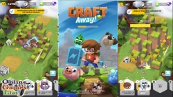 Craft Away Idle Mining Game v 1.1.14 Mod apk With unlimited coins and money.