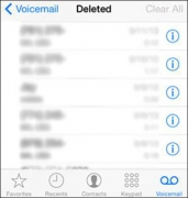 How to Delete All Voicemail Messages on your iPhone [ iOS 8 ]