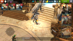 Download Dungeon Hunter 5 v 2.5.0i Mod Apk with Unlimited money and coins.