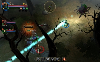 Dungeon Hunter 5 v1.0.1d mod Apk Unlimited HP points and rapid Attack.
