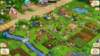 FarmVille: Tropic Escape MOD APK v1.0.258 with unlimited coins and money.