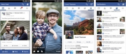 Download Facebook for Android with latest flat UI update. [ April 2014]