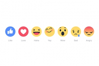 How to get Facebook Reactions on Like button.