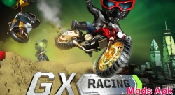 GX Racing v 1.0.16 Mod Apk for unlimited coins and money.