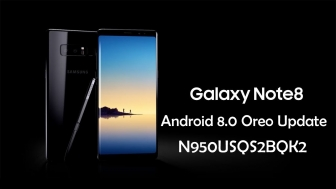 Update Samsung Galaxy Note 8 SM-N950US to Android Oreo 8.0 Build [N950USQS2BQK2]