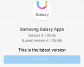 Download Samsung Galaxy Apps 4.1.05-36 Apk with updated Grace UI.