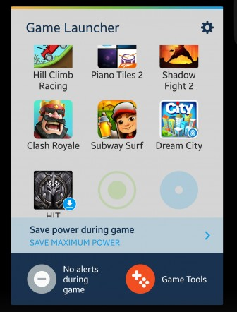 Download Game Launcher 1.0.05 Apk for Samsung Galaxy S6, S6 Edge & Note 5