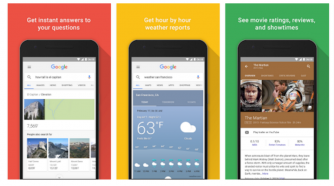 Google app v6.0.20 Apk is out with new interface.