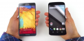 1st ever Nexus 6 Video comparison with Galaxy Note 4, iPhone 6, Galaxy S5 and others.