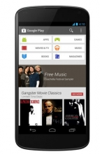 Google Play Store Updated to version 4.0 with its new interface, Download Here.