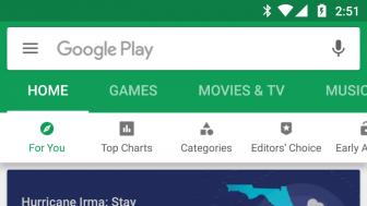 Google Play Store v8.2.36 Apk with new tab bar design [September 2017 version]