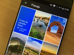 Download Google Wallpapers app for your Android devices.