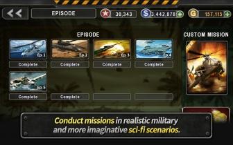 Gunship Battle: Helicopter 3D 1.7.4 Mod Apk with Unlimited money.