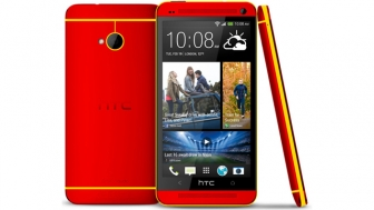 HTC One added new color RED, spotted online.
