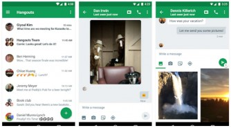 Download Hangouts Apk v11.0.1 with Android Nougat 7.0 UI.