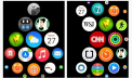 How to organize apps on Apple Watch.