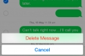 How to Delete Individual Message from iPhone on iOS 8