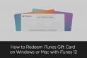 How to Redeem iTunes Gift Card on iTunes [ Windows or Mac ]