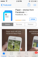 "How to Download ""Paper – stories from Facebook"" for Non U.S iOS users."