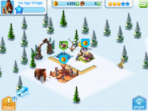 Ice Age Village v3.2.0 Mod Apk Loaded with unlimited money.