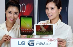 LG G Pad 8.3 LTE version popped up at Amazon.