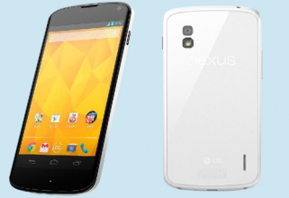 LG Nexus 4 White officially announced today, will show up in the markets from tomorrow.