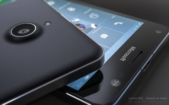 Microsoft Lumia 850, a 5.7 inch phablet to be released on January 12th.