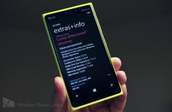 Now Nokia Windows Phone glance screen is coming with color options in GDR3 and Bittersweet shimmer