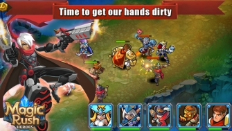 Magic Rush: Heroes Mod Apk v1.1.9 with unlimited Money.
