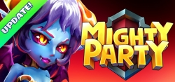 Mighty Party: Heroes Clash v1.00 mod apk unlock all mods, free chests, free shopping etc.