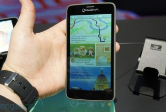 Qualcomm displays Mirasol, A 557 ppi Display with a 2,560 x 1,440 p Resolution.