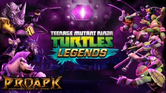 Ninja Turtles: Legends v1.2.10 Mod Apk with infinite cash and coins.