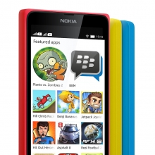 BBM coming to Nokia X , Lumia and other Asha series phones soon.