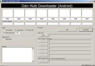 Download Odin 3.07, 3.09, Odin Multi Downloader for All Samsung Smartphones.