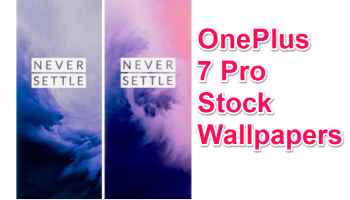 Download OnePlus 7 Pro Stock Wallpapers. [Live Wallpapers included]