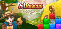 Pet Rescue Saga v1.36.3 Mod Apk [ Unlimited Lives, 100+ moves]