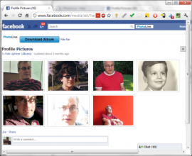 How to download Facebook Photo Album with one click.