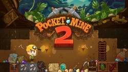 Pocket Mine 2 v2.3.0.2 Mod Apk with unlimited coins.