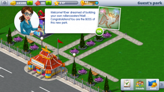 RollerCoaster Tycoon 4 Mobile v1.4.3 Mod Apk with free shopping.