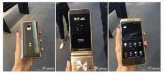 A New High End Samsung Flip Phone leaked code-named SM-W2017.
