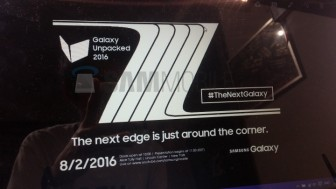 Samsung Galaxy Note 7 and Note 7 Edge to be unveiled on August 2nd, 2016.