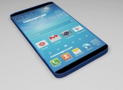 Samsung starts producing 5.25-inch 2560 x 1440 for the Galaxy S5 in a mass campaign.