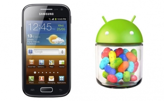 Jelly Bean 4.1.2 is out for Samsung Galaxy Ace 2