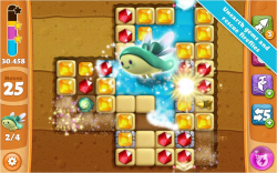 Diamond Digger Saga Modded apk [ Unlimited Moves and Boosters ]